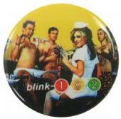 Blink 182 - 'Group Nurse' Button Badge